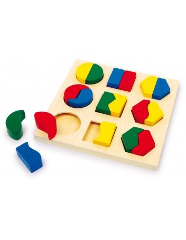 Puzzle à encastrer Paires de formes