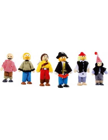 Petites poupées «Pirates»