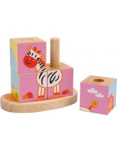 Puzzle cubes à encastrer...