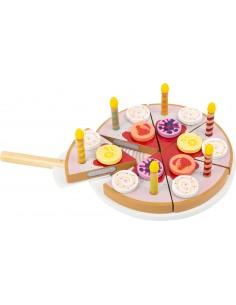 Gâteau d'anniversaire à...