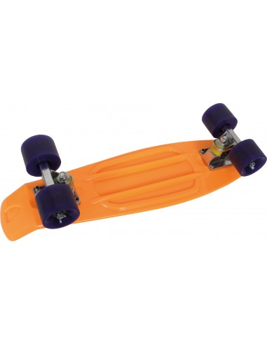 Skateboard, orange fluo
