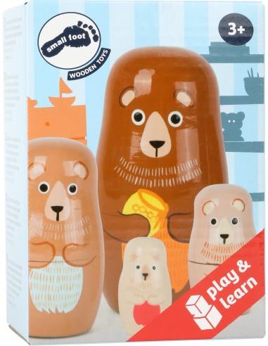 Poupées russes Famille d'ours