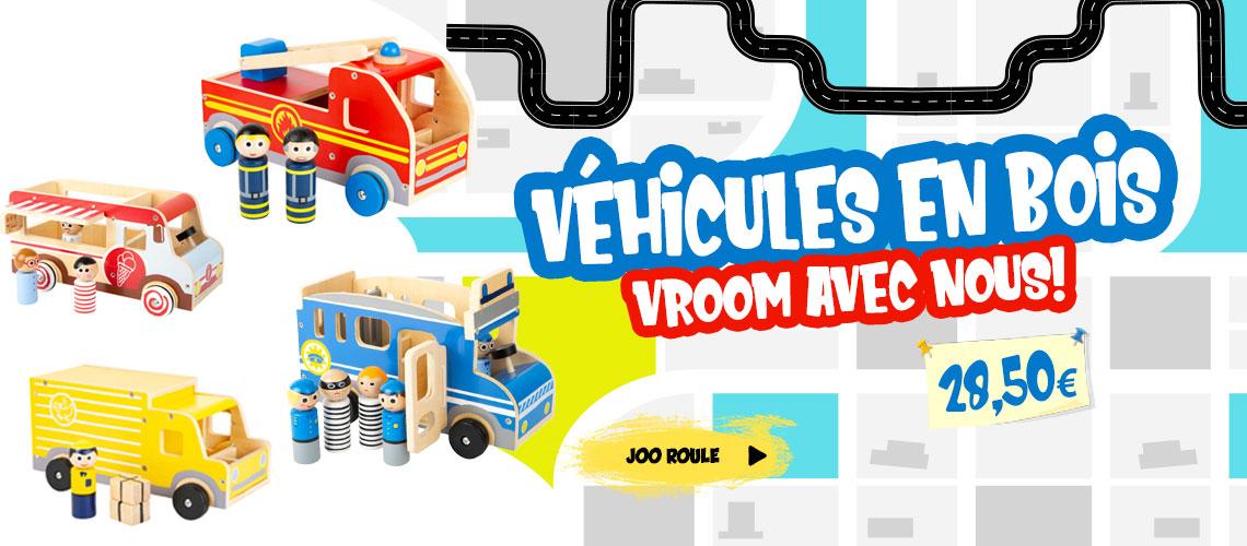 Voitures et véhicules en bois