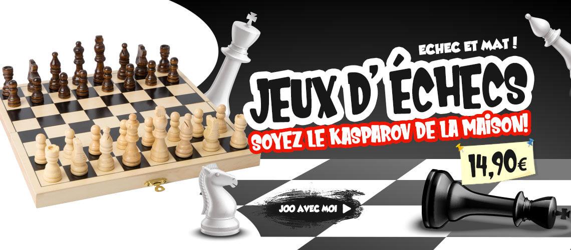 Jeux d'échecs en bois bois